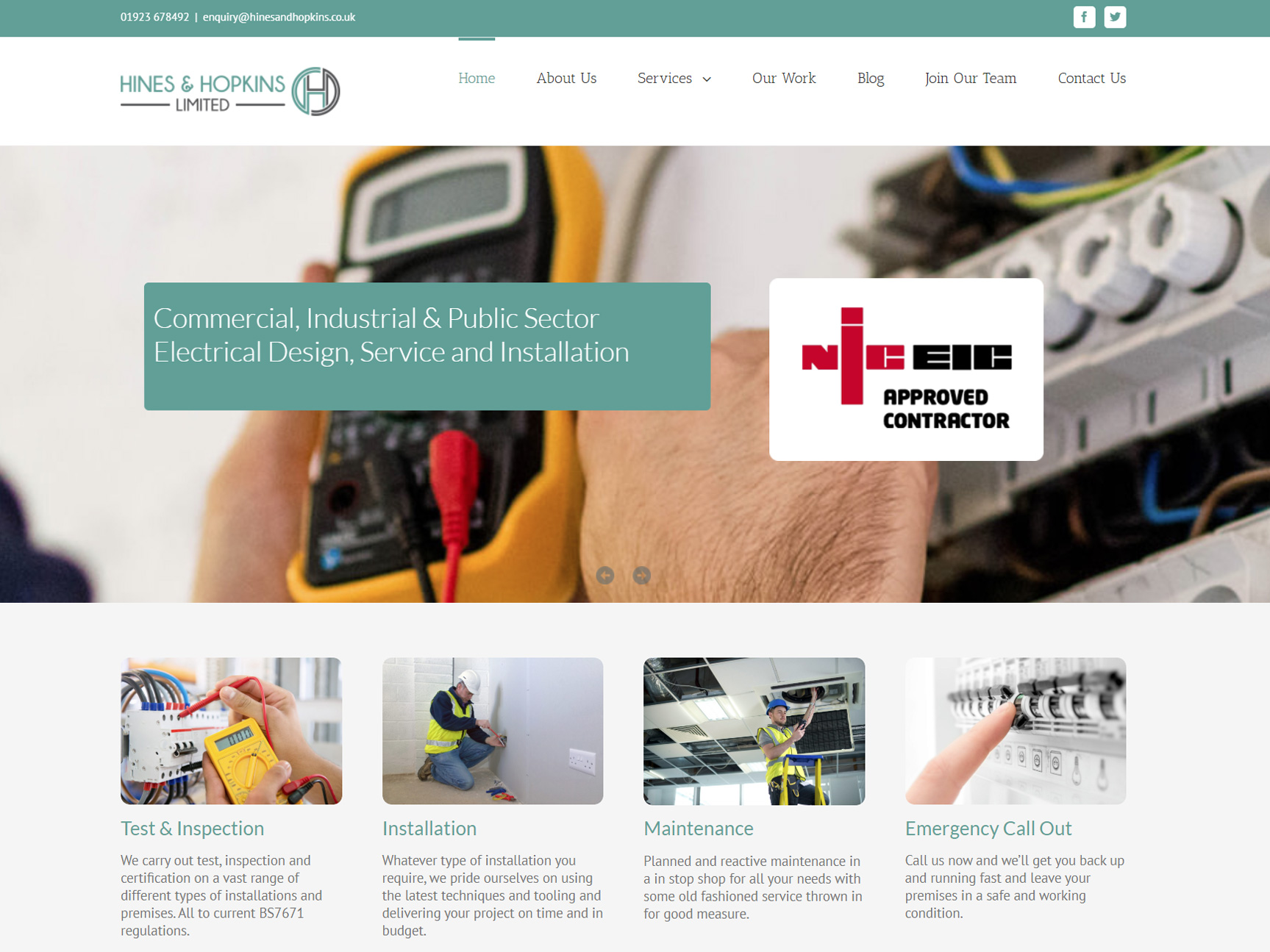 electrician-website-design