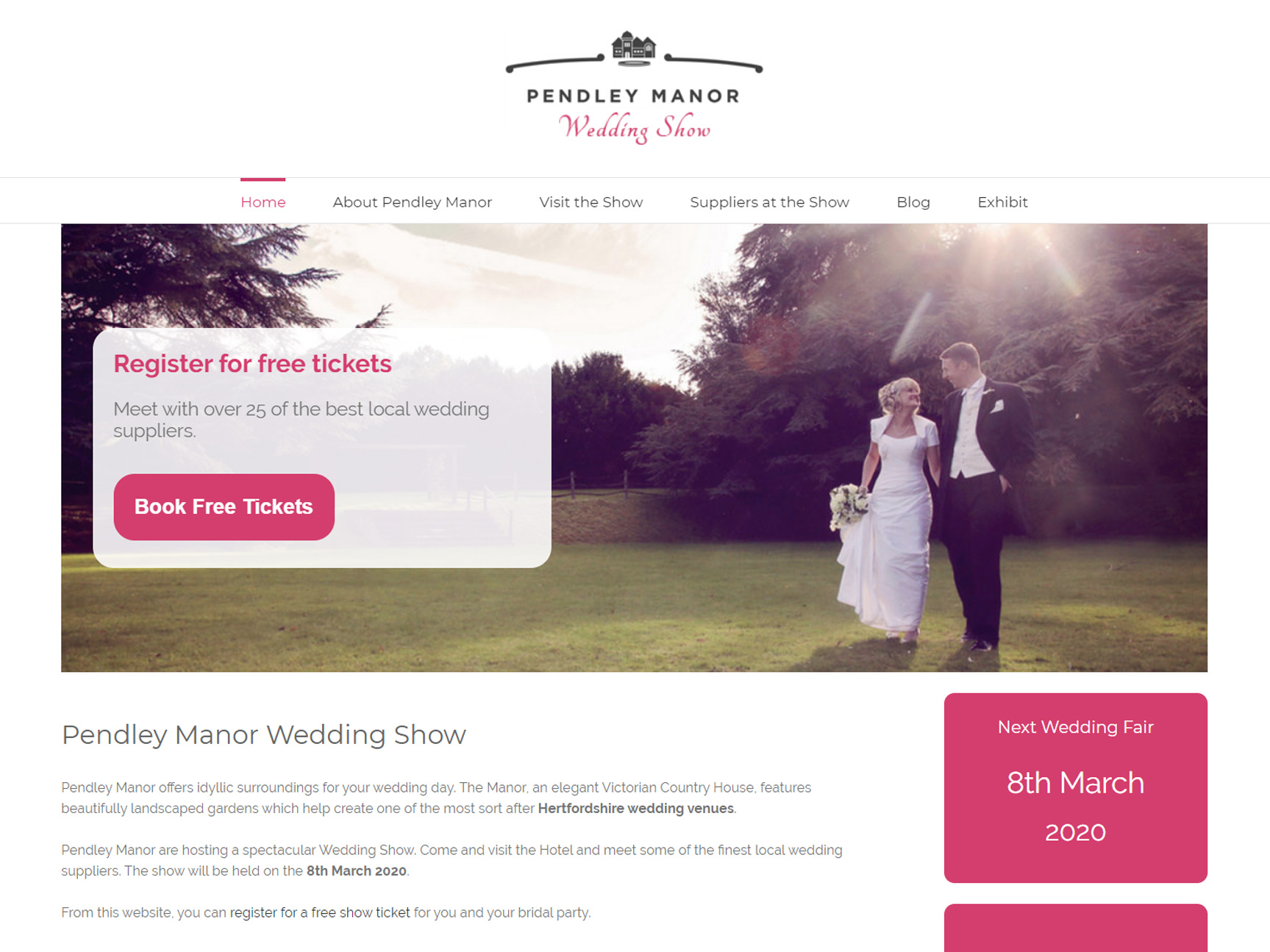 wedding-fayre-website-design