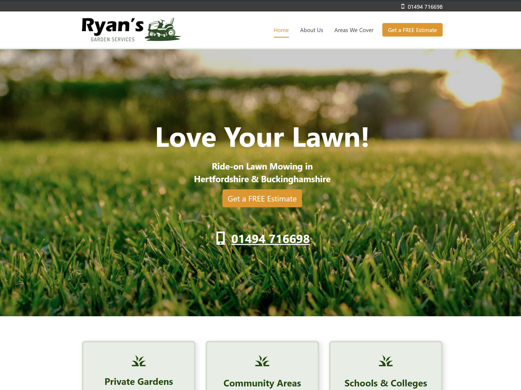gardeners-website-design